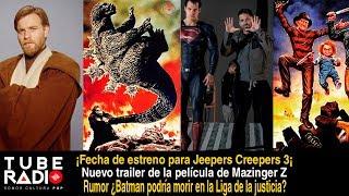 Tube Radio: ¿Zack Snyder regresa? Godzilla ataca México Chucky vs Freddy Krueger, Spin-off Obi Wan