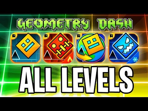 Xxx Mp4 Every Geometry Dash Level With Coins GD Meltdown Subzero World 37 Levels 3gp Sex