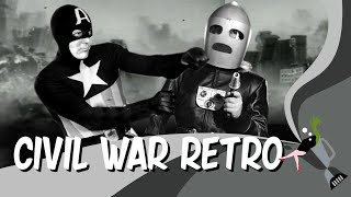 Captain America Civil War Retro - Prelude to Avengers Infinity War