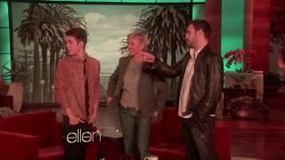 Justin Bieber & Sabrina Carpenter | Ellen Suprise