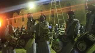 سهرة عرس الطبل بقصر الفرش غمراسن : فرقة الانوار