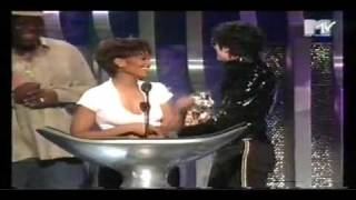 Michael & Janet Jackson VMA Best Dance Award-Scream Sep 7, 1995