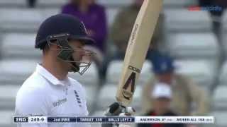 Winning moment Sri Lanka Vs England 2nd Test Leeds 2014