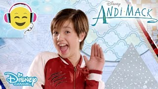 Andi Mack | Theme song - Sing Along 🎤 | Official Disney Channel UK