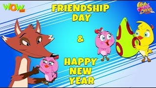 Friendship Day | Happy New Year- Eena Meena Deeka - Animated cartoon for kids - Non Dialogue