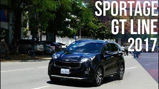 ការបង្ហាញពីរថយន្ត Kia Sportage GT Line ឆ្នាំ 2017 ដោយ John Sey