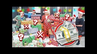 Opening MYSTERY Christmas Presents! 1 of 100 has $3,000