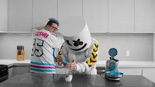 Cooking with Marshmello: How to Make Lemonade Slushies (Feat. Slushii)