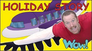 Holiday Story for Kids from Steve and Maggie | Speaking Stories Wow English TV