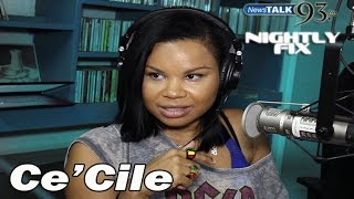 Ce'Cile talks state of female dancehall, Chris Martin as a dad + new album @Nightly Fix