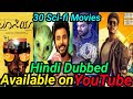 Top 20 Science Fiction New South Hindi Dubbed Movies Available On YouTube.
