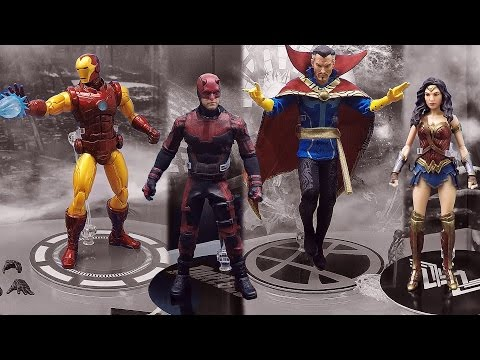 New York Toy Fair 2017 Mezco Toyz Booth Tour One:12 Collective Action Figures Living Dead Dolls