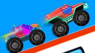 Monster Truck | Monster Trucks Racing | Car Race