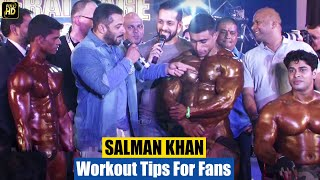 Salman Khan's Gym Bodybuilding Workout For SULTAN Copied By FAN