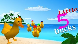 Five Little Ducks Went out One Day and More | Nursery Rhymes and Fun Songs By Vega TV Nursery Rhymes