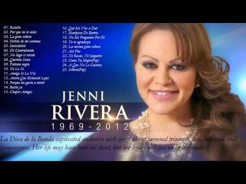 Jenni Rivera Sus Mejores Éxitos Las 25 Mejores Conciones de Jenni Rivera