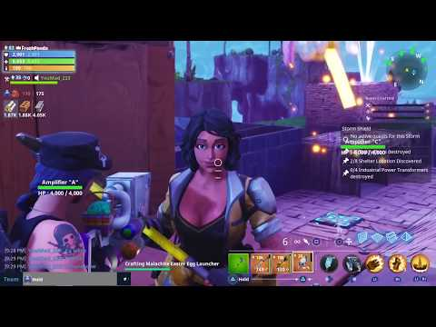 INSANE Scammer Gets Scammed For All His Guns FORTNITE SAVE THE WORLD MUST WATCH