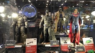 BvS prototype figures from Hot Toys at Toy Soul Dec 2015