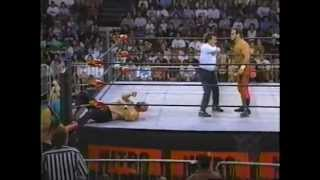 08.12.1996 - Chris Benoit vs Ron Studd - WCW Nitro #48