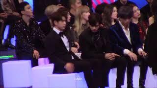 171201 MAMA GOT7 (Jinyoung focus) Reaction to Karen Mok