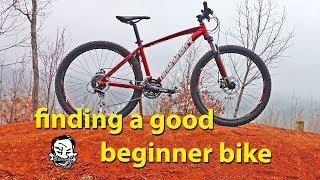 What's a good beginner bike? - Budget mountain bike