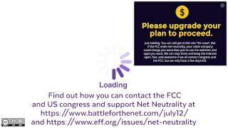 Net Neutrality explained and why it matters.