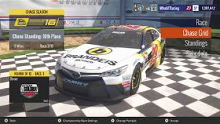 NASCAR Heat Evolution 50% RACE At Dover W/105% Difficulty (Race 3-10)