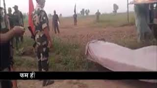 Pakistani Rangers accepted dead body of his Intruder, who was killed by Indian army