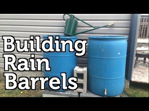 Installing a Rain Barrel for Beginners