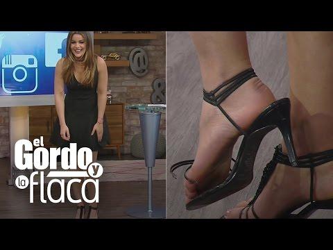 Xxx Mp4 A Clarissa Molina Se Le Rompió En Pleno Show El Zapato Que Lili Le Había Prestado 3gp Sex