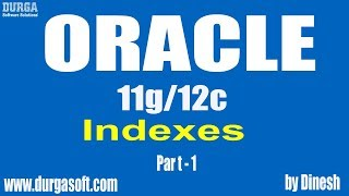Oracle || Indexes Part-1 by dinesh