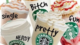 What Your Starbucks Drink Says About YOU!!!!!!