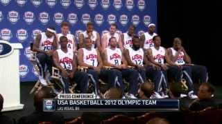 2012 USA Basketball Team Analyzing The Roster