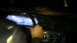 Mercedes Benz 190 snow drift