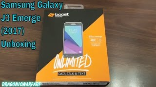 Samsung Galaxy J3 Emerge Unboxing (Boost Mobile) HD