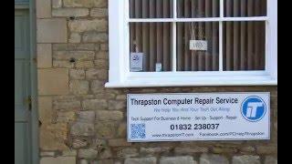 Thrapston Computer Repair Service Workshop Tour