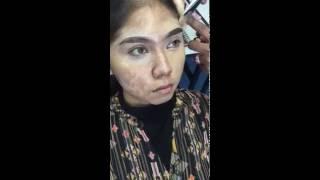 Makeup class with alha alfa