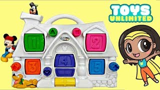 Disney Jr. Mickey Mouse Pop Up Pal House, Learn Colors, Numbers Egg Surprises Minnie Friends / TUYC