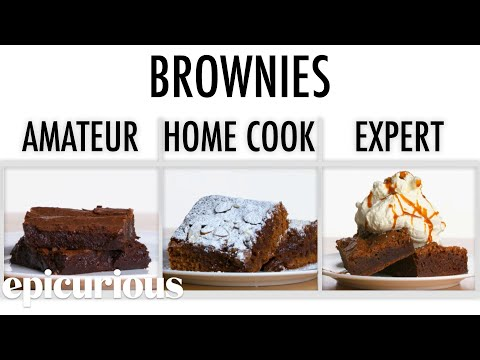 4 Levels of Brownies Amateur to Food Scientist Epicurious