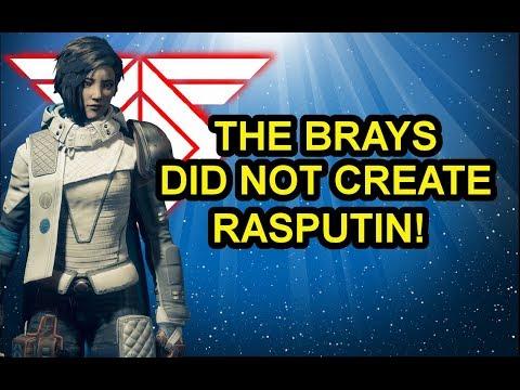 Destiny 2 Lore Origin Story of Rasputin Myelin Games