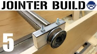 I'm Building A Jointer! - Bearing Studs And Design Details