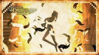 The Legend of Dragoon   Shana/Miranda's Dragoon Transformation and Magic Spell Animations
