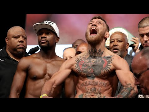 Xxx Mp4 Floyd Mayweather Weighs In Lighter Than Conor McGregor 3gp Sex