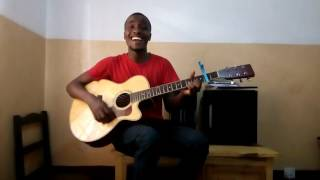 Amenifanyia amani cover (English version,acoustic guitor)-Gerald Jonathan.