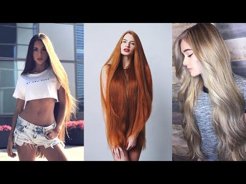 New Real Life Rapunzels - Extremely Long Hair Girls of Instagram and Musical.ly 2018