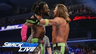 Kofi Kingston vs. AJ Styles - Gauntlet Match Part 4: SmackDown LIVE, Feb. 12, 2019