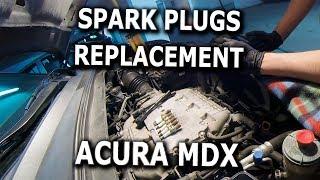 Spark Plugs Change DIY 2008 Acura MDX