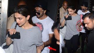 Hot Deepika Padukone Spotted With Her Boyfriend Ranveer Singh Outside Zoya Akhtar's House