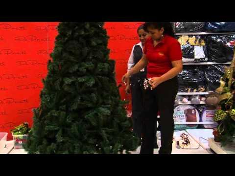 Decoración de árboles de navidad 2010 Parte 1