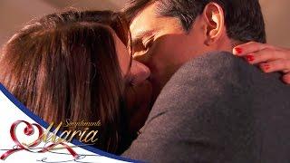 María y Cristóbal se confiesan su amor - Simplemente María*
